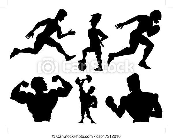 set of sportsmen - csp47312016