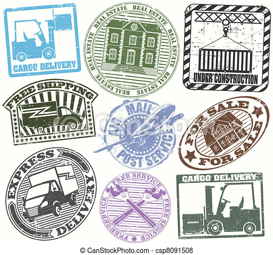 Set of stamps - csp8091508