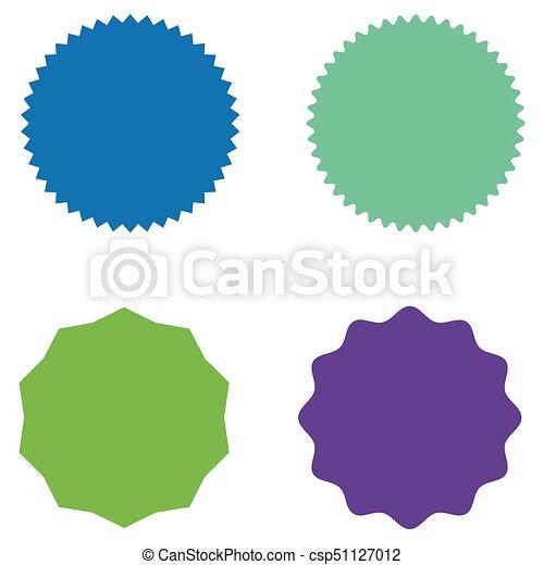 set of starburst sunburst badges labels stickers blue vector rh canstockphoto com starburst graphic vector starburst graphics grande prairie