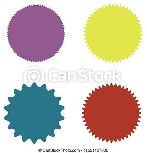 set of starburst sunburst badges labels stickers purple rh canstockphoto com starburst vector art starburst vector art