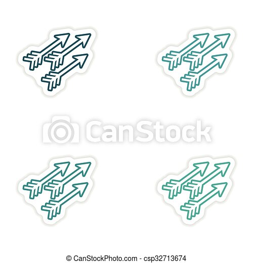 Indian Arrows Graphic