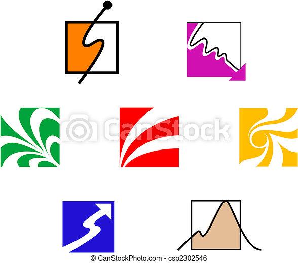 Set of symbols - csp2302546