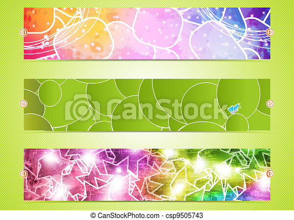 set of three banners - csp9505743