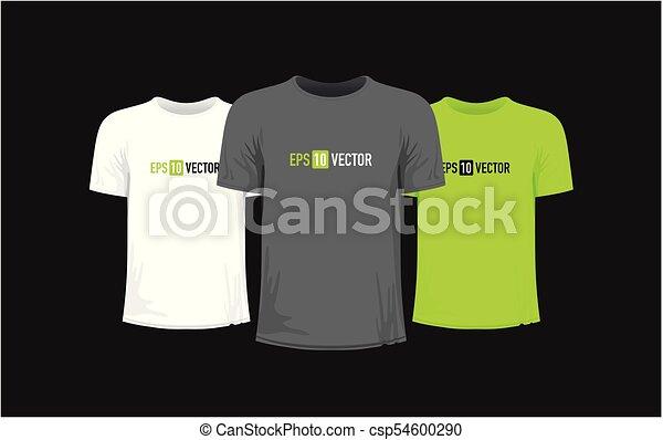 Set of three tshirts - csp54600290