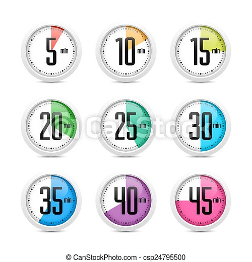 Set of timers - csp24795500