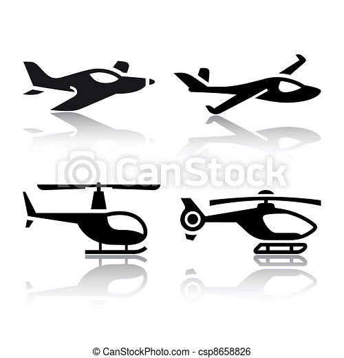 Set of transport icons - csp8658826