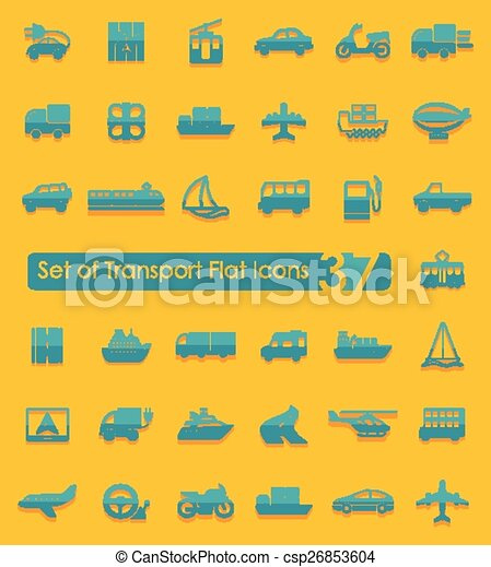 Set of transport icons - csp26853604