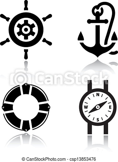 Set of travel icons - csp13853476
