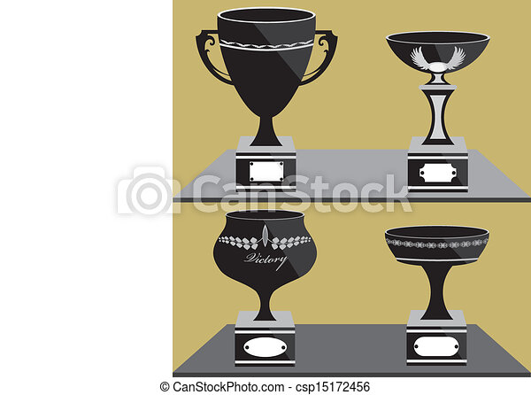 Set of trophies - csp15172456