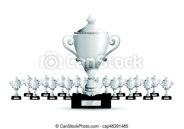 Set of trophies - csp48391485