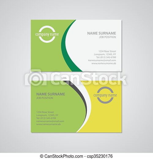 Set of two business cards canada and usa standard 35 x 2 in 88 set of two business cards csp35230176 colourmoves