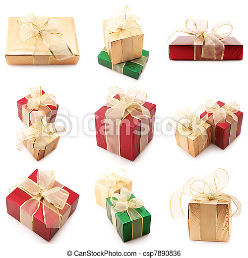 Set of various gifts - csp7890836