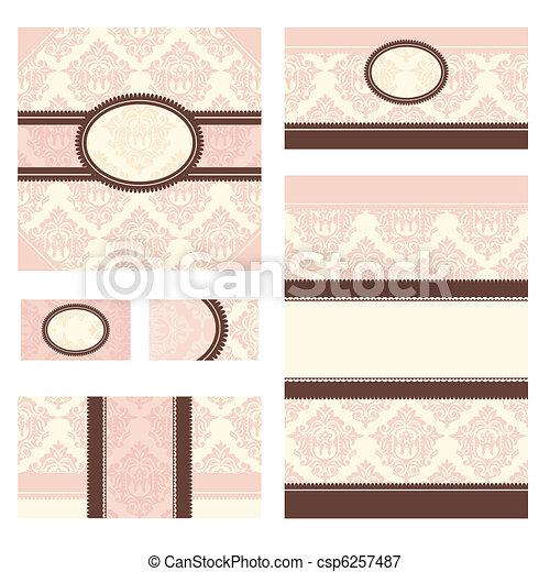 set of vector frames - csp6257487