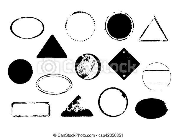 set of vector stamps - csp42856351