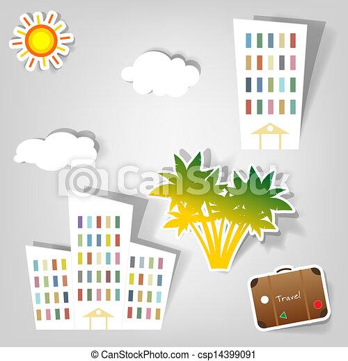 set of vector stickers - csp14399091