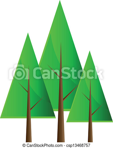 set of vector trees isolation over white background clipart vector rh canstockphoto ie vector trees top view vector trees png