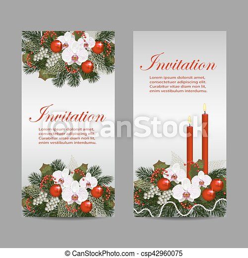Set of vertical banners - csp42960075