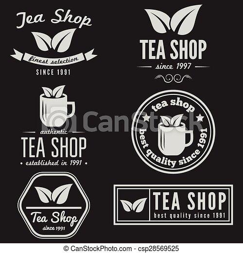 Set of vintage labels, emblems, and logo templates for... vector ...