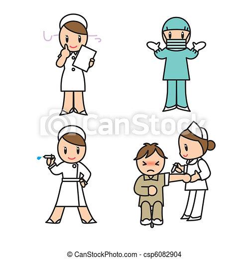 set, ospedale - csp6082904