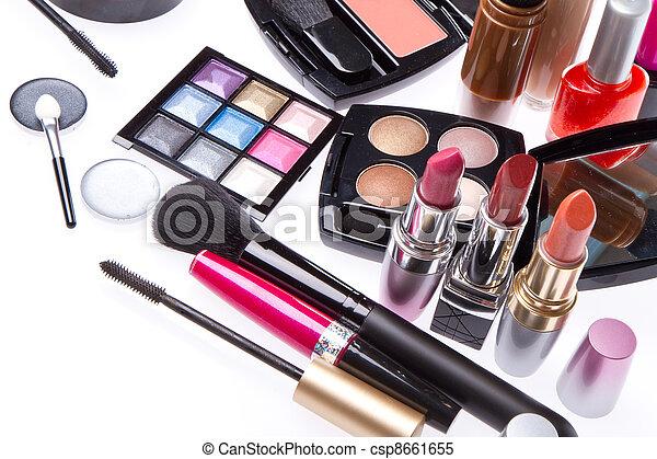 set, prodotti, cosmetico, trucco - csp8661655