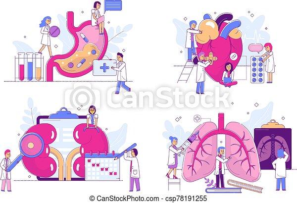 set., tela, yoga, condición física, ejercicios, vector, ilustración, embarazada, educación, prenatal, mujeres - csp78191255