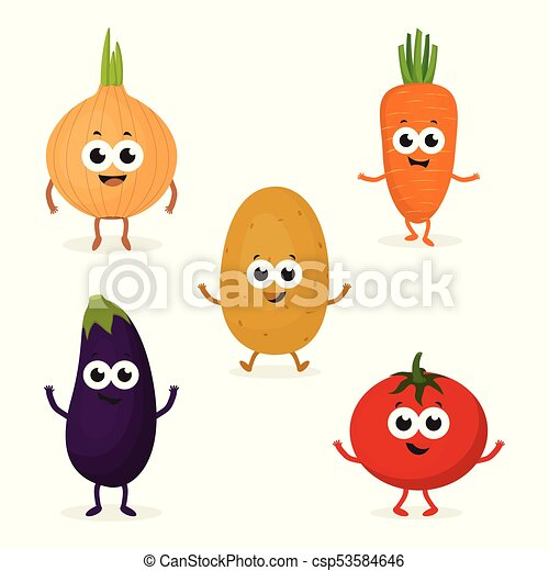 set with cute vegetables set with cartoon vegetables funny turkey clip art funny thanksgiving pictures clip art