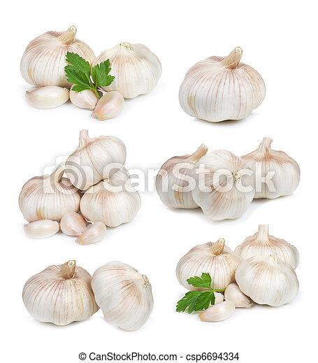 set with garlic - csp6694334