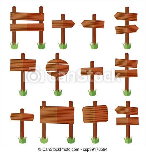 set wood sign vector eps vectors search clip art illustration rh canstockphoto com wood sign vector png wood sign vector art