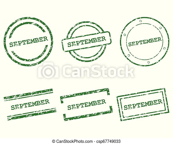 setembro, selos - csp67749033