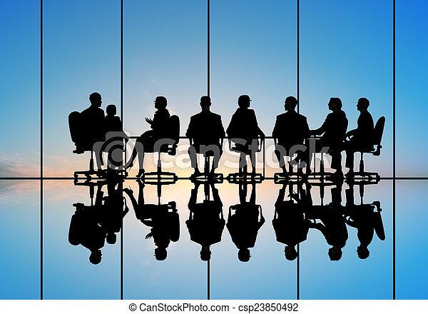 setkání, povolání - csp23850492