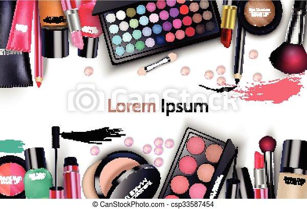 Sets of cosmetics - csp33587454
