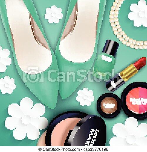 Sets of cosmetics - csp33776196