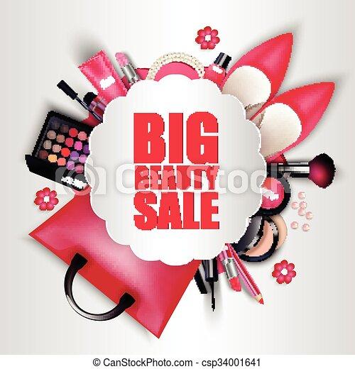 Sets of cosmetics - csp34001641