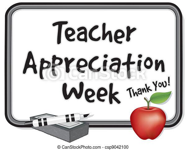 settimana, apprezzamento, insegnante - csp9042100
