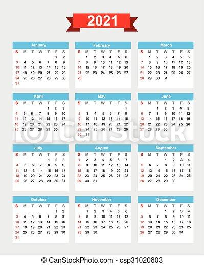 Settimana, inizio, calendario, 2021, domenica. Settimana, eps10