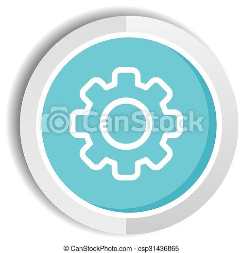 setting icon button - csp31436865