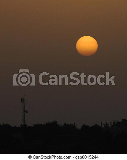 Setting sun - csp0015244