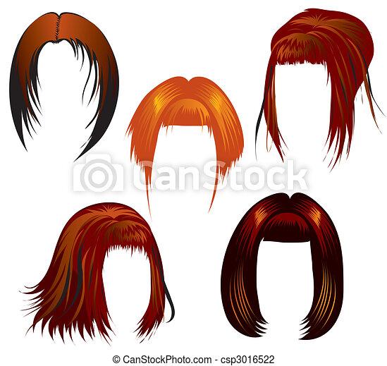 Haarsträhne - csp3016522