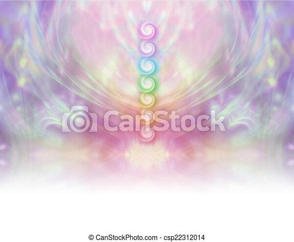 Seven Chakra Vortex Website Banner  - csp22312014