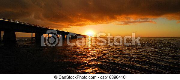 Seven Mile Panorama - csp16396410