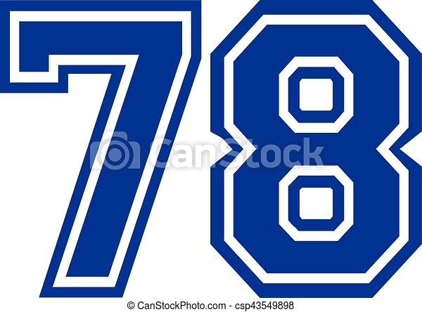 78 >> Seventy Eight College Number 78