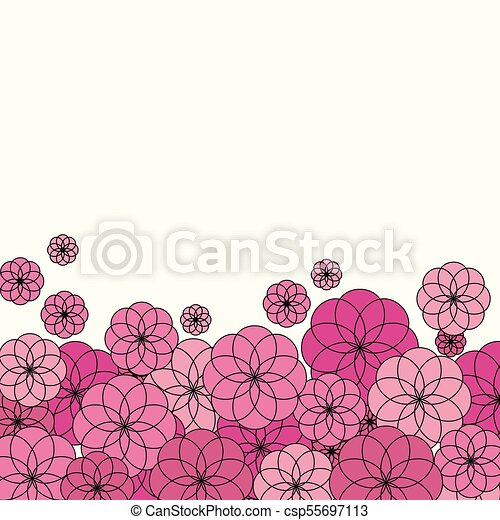 Several pink flowers on white background several pink dark flowers several pink flowers on white background csp55697113 mightylinksfo
