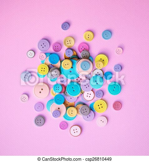 Sewing Buttons - csp26810449