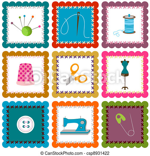 sewing elements - csp8931422