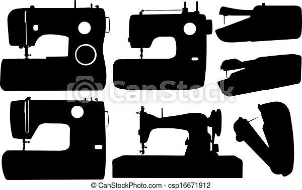 sewing machines - csp16671912