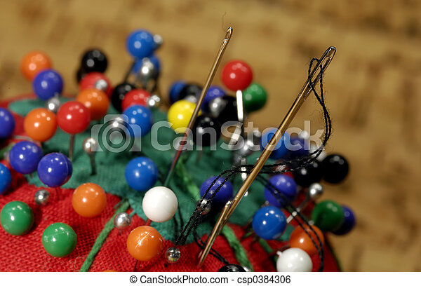Sewing Needles - csp0384306