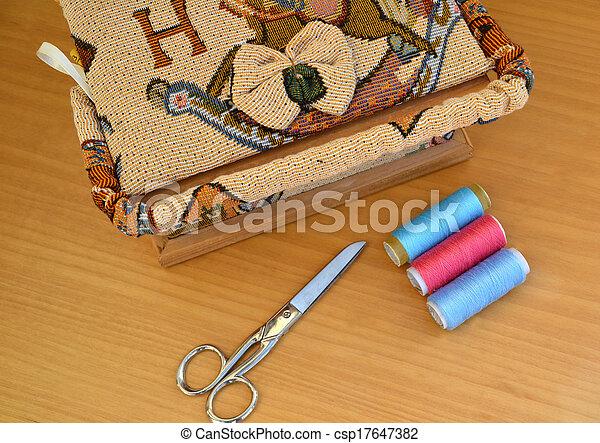 Sewing tools - csp17647382