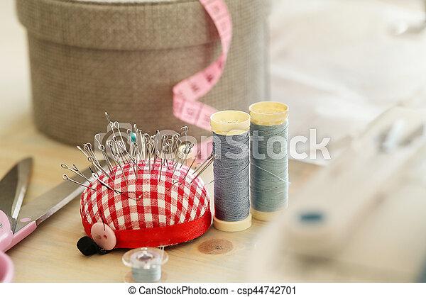 Sewing tools - csp44742701