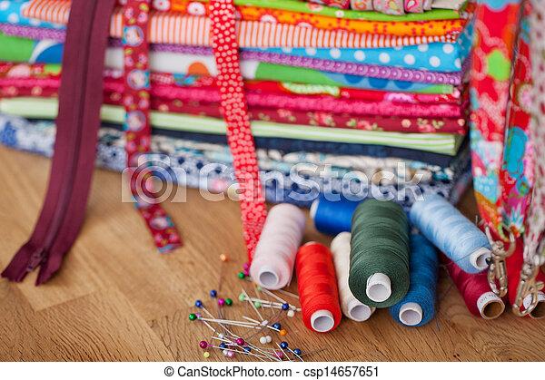 Sewing utensils - csp14657651