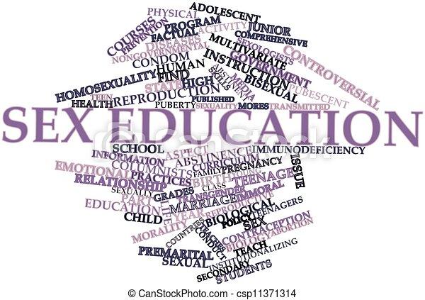 Sex education - csp11371314